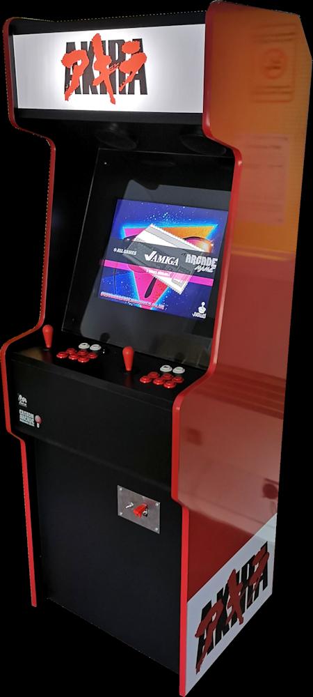 The AKIRA Mark One ALPHA Arcade Machine