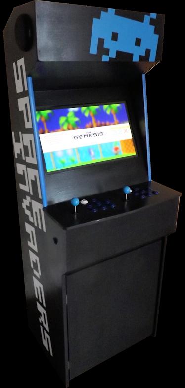 The Prototype Mark Two Arcade Machine