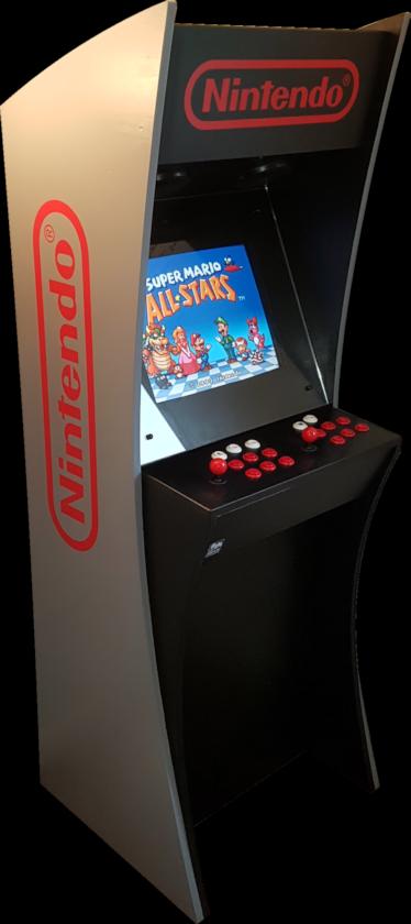 A Custom Arcade Machine