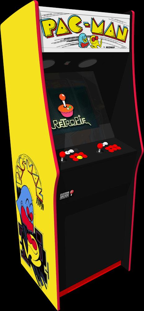 The PacMan Arcade Machine