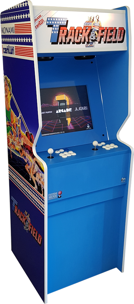 The Track and Field Arcade Machine